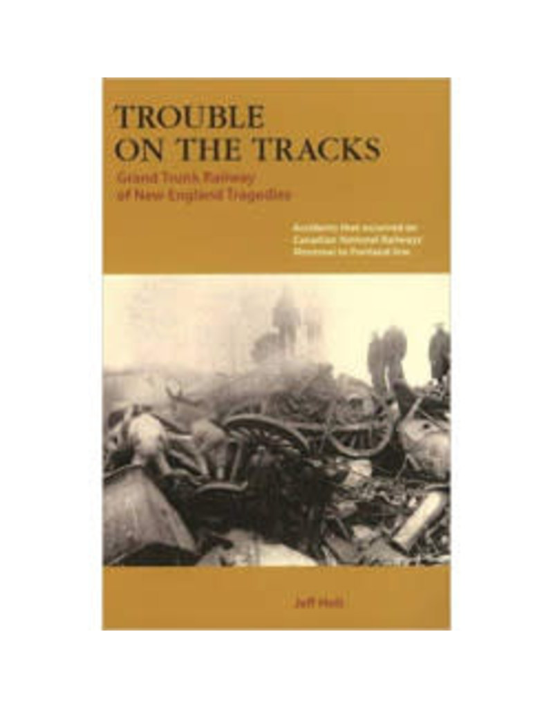 Book Trouble on the Tracks