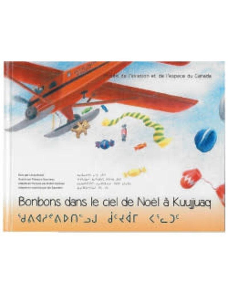 Livre Bonbons dans le Ciel de Noël à Kuujjuaq