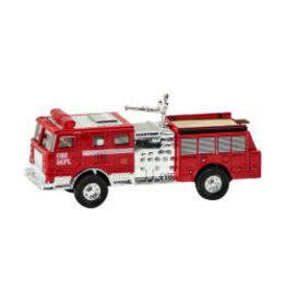 Camion d'incendie à rétropropulsion