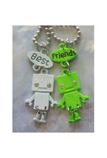 Collier robots « Best Friends »