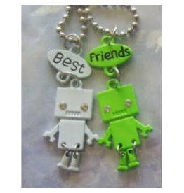 Collier robots « Best Friends »