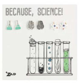 Boucles d'oreilles Science