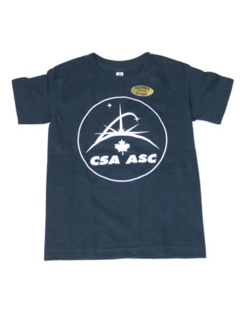 T-Shirt ASC qui brillent dans le noir pour enfant