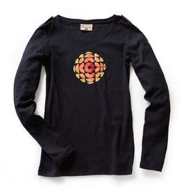 T-shirt à manches longues pour femmes 'CBC Retro Logo 1974-1986'