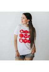 T-shirt pour femmes icônes du nord