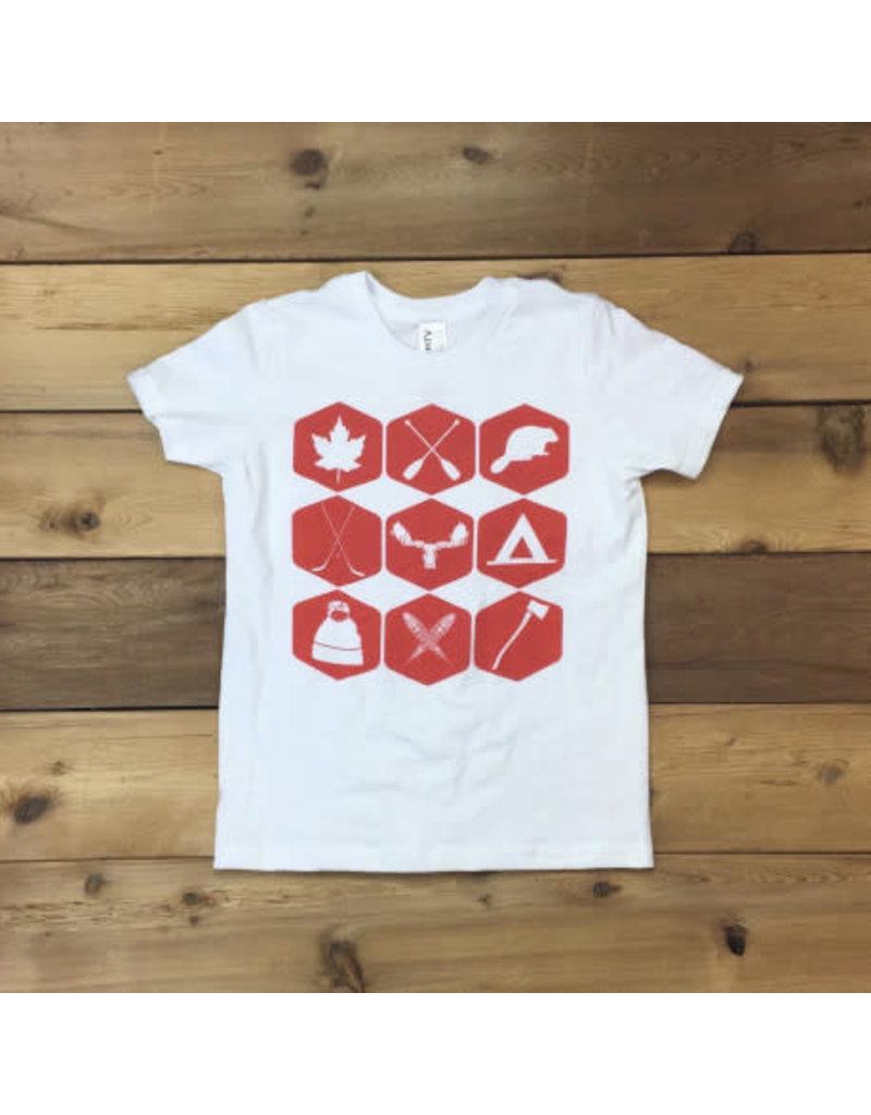 T-shirt pour jeunes, icônes du nord