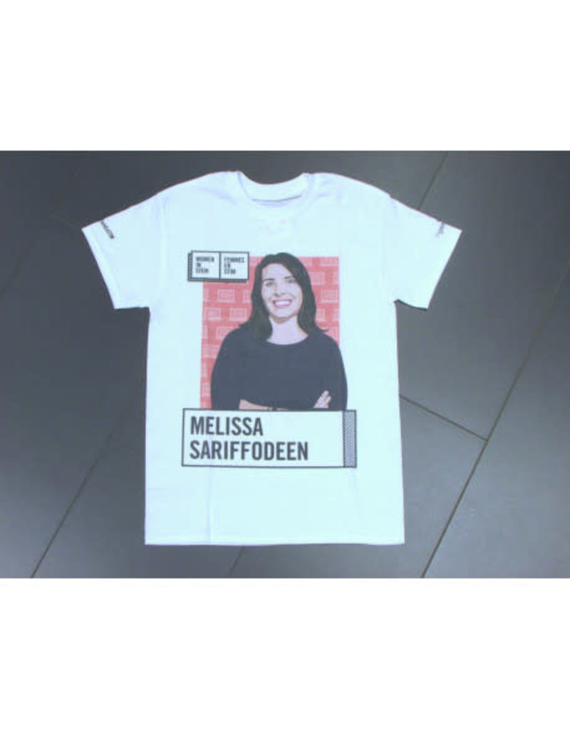 Melissa Sariffodeen, femmes en STIM, t-shirt pour adultes