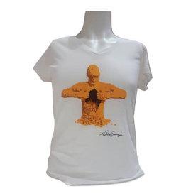 L'art de la brique - T-shirt pour femme de la célèbre œuvre « Yellow »