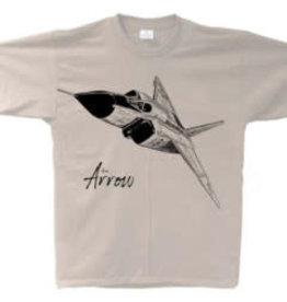 Core collection T-Shirt Avro Arrow Sketch
