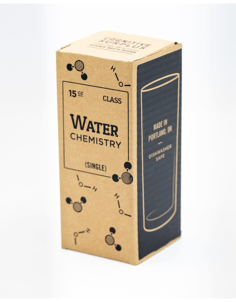 Chemistry of Water Tumbler Glass