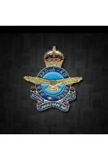 Épinglette 'RCAF King's Crown'