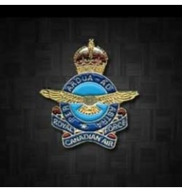 RCAF King's Crown Lapel Pin