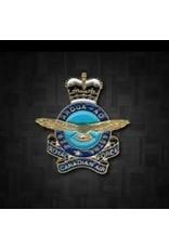 Épinglette 'RCAF Queen's Crown'