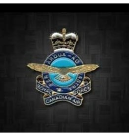 RCAF Queen's Crown Lapel Pin