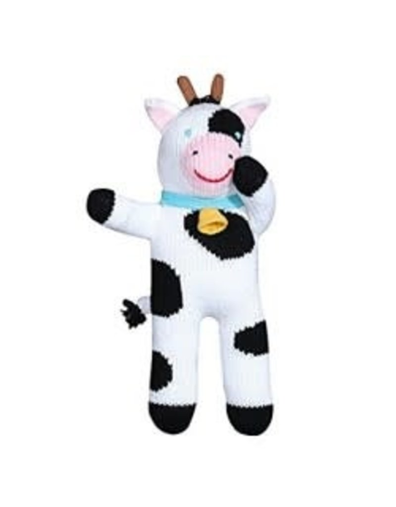 Plush Cow Rattle