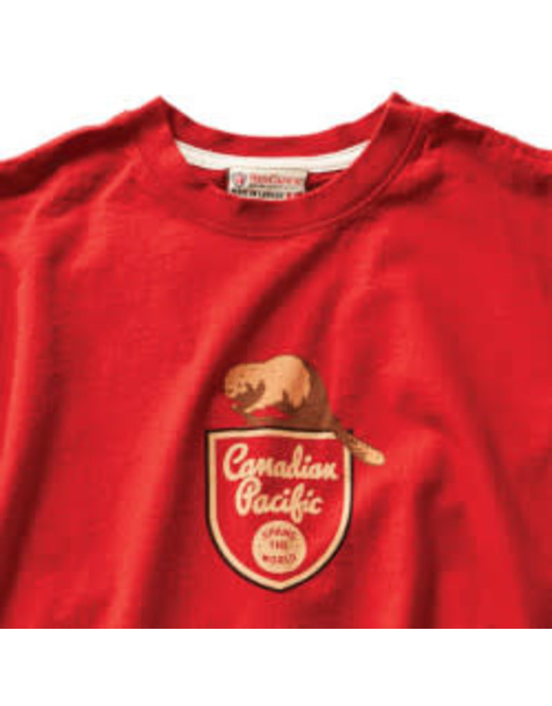 T-Shirt Canadian Pacific Beaver