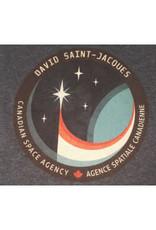 T-shirt pour enfant L'écusson de la mission spatiale de David Saint-Jacques