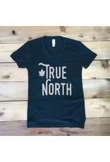 """T-shirt pour femmes """"True North"""""""