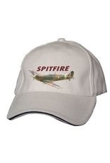 Casquette imprimée du Supermarine Spitfire