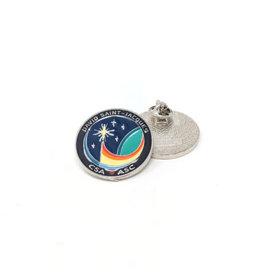 Épinglette de la mission spatiale de David Saint-Jacques Expedition 58/59