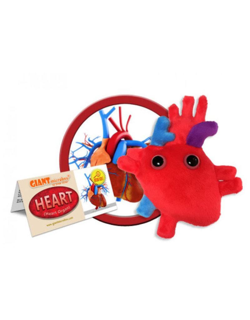 Coeur en peluche