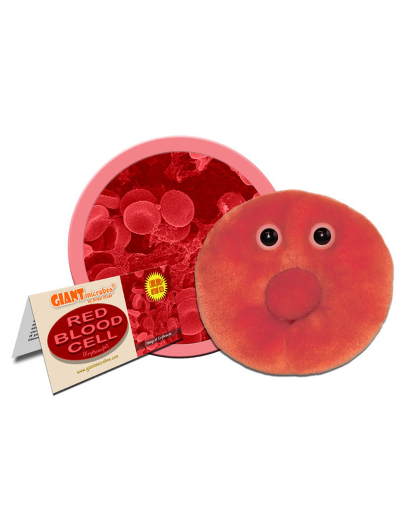 Plush Red Blood Cell