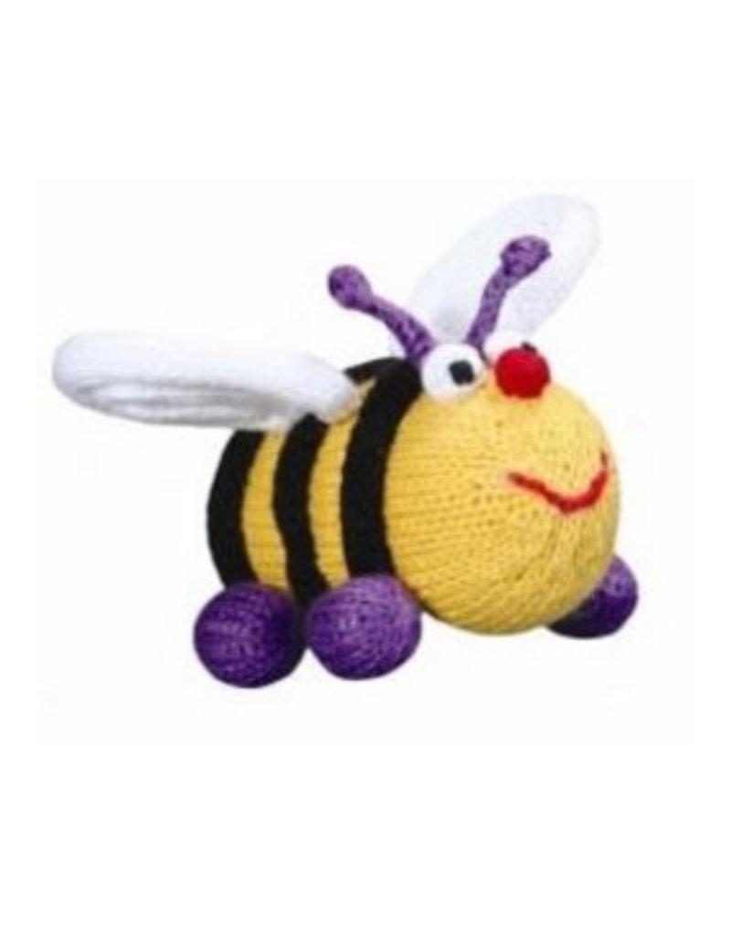 Plush Bee Rattle