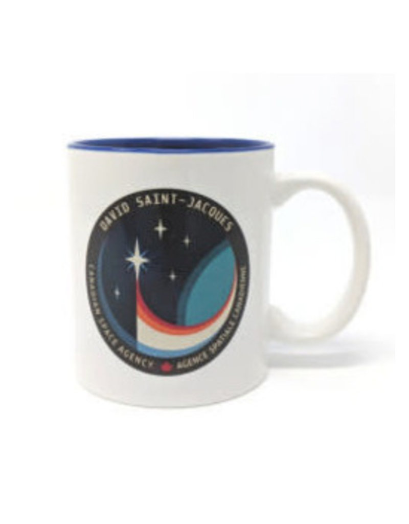 Tasse céramique de la mission Expedition 58/59 Saint-Jacques