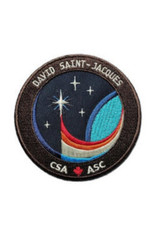 CSA/ASC Écusson brodé de la mission spatiale de David Saint-Jacques Expedition 58/59