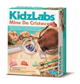 KidzLab Crystal Mining Kit