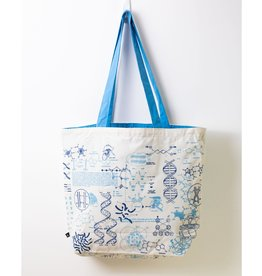 DNA & Genetics Canvas Shoulder Tote