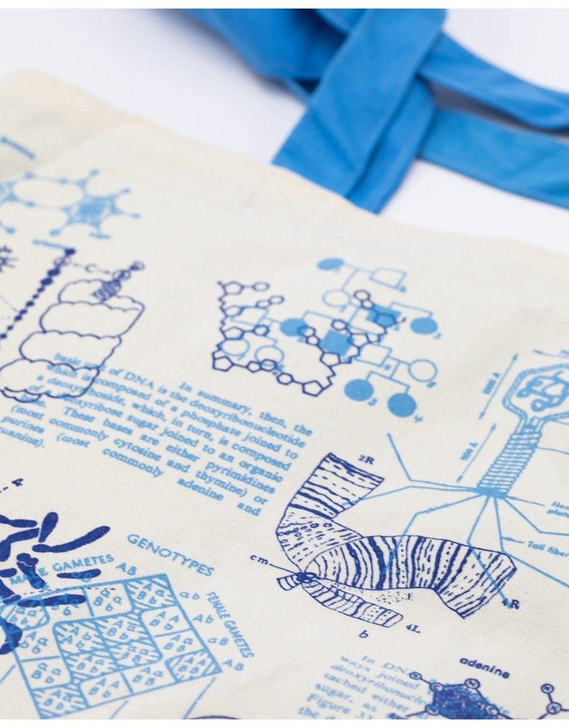 DNA & Genetics Canvas Shoulder Tote