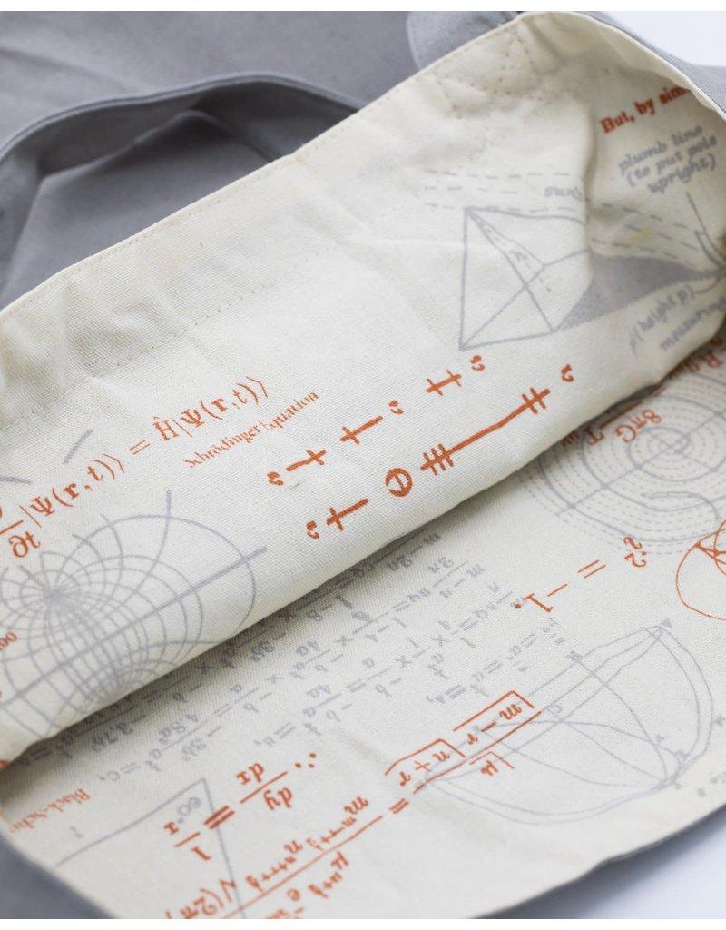 Mathematics Canvas Shoulder Tote