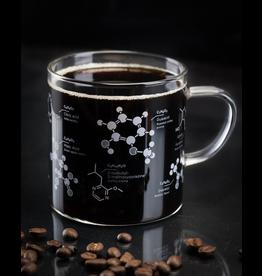 Tasse avec un motif de chimie