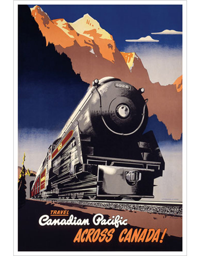 Affiche Across Canada