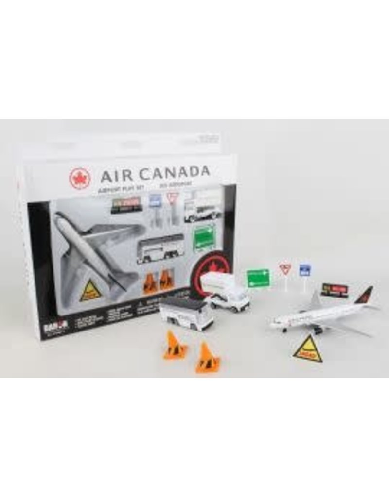 Air Canada Airport Playset
