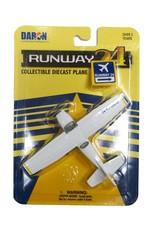 Avion C172 Runway24 bleu/blanc