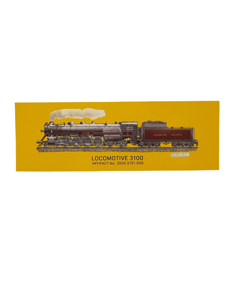 Marque-pages Locomotive 3100