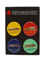 CSTM Button Set of 4
