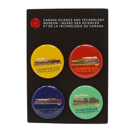 CSTM Button Set of 4