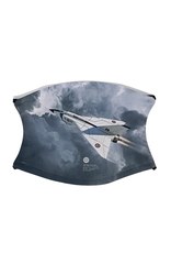 Avro Arrow Face Mask Grey