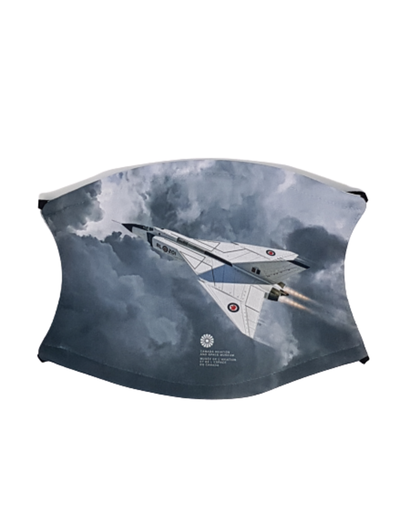 Masque d'Avro Arrow Gris