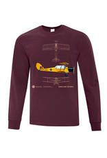 Long Sleeve Tiger Moth Shirt