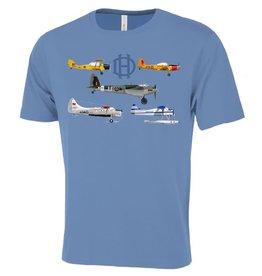 T-Shirt De Havilland Montage pour hommes