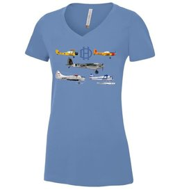 T-shirt De Havilland Montage Ladies