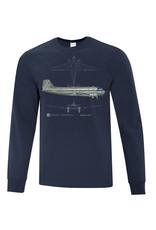 Chemise à manches longues DC-3
