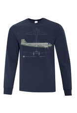 Long sleeve DC-3 Shirt