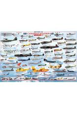 Histoire de l'Aviation Canadienne - affiche