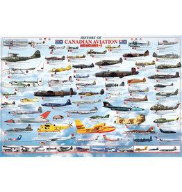 Histoire de l'Aviation Canadienne -affiche