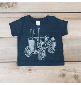 T-shirt tracteur pour enfants